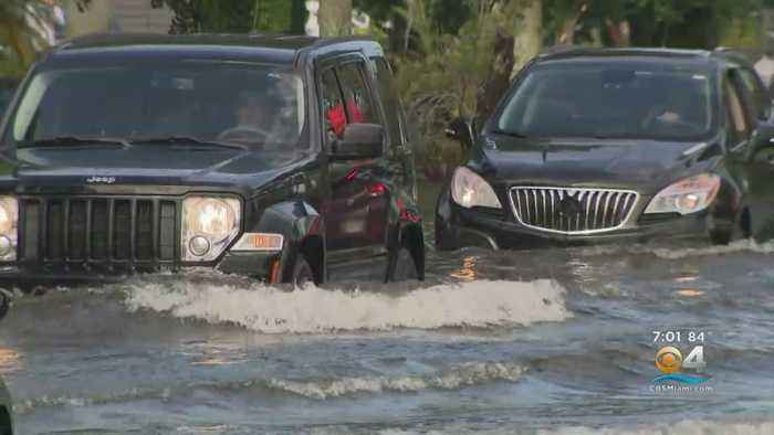 Sudden Downpour Causes Flash Flooding In Parts Of South Miami-Dade
