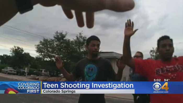 Police Release Body Cam Video In Deadly Teen Shooting