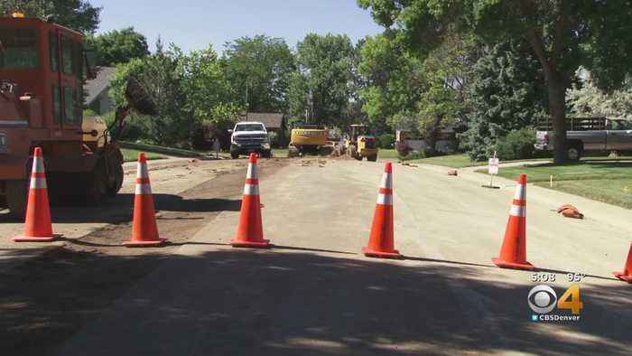 Denver Water Urges Drivers To Slow Down In Work Zones