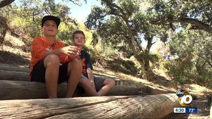 Kids navigate grief through common bond at San Diego camp
