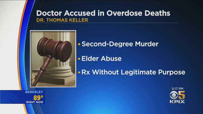 Santa Rosa Doctor Charged With Killing Patients By Over-Prescribing Opioids