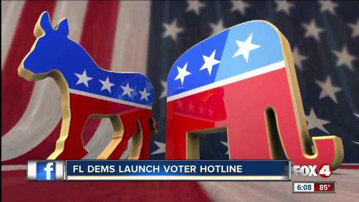 Florida Democrats Launch Voter Hotline