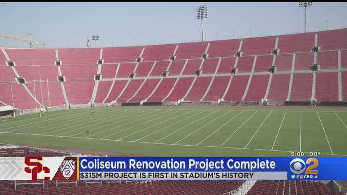 LA Memorial Coliseum Completes $315M Renovation Ahead Of Football Season