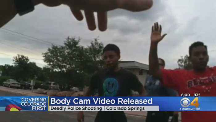 Police Release Body Cam Video Showing Shooting