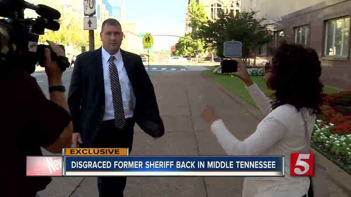 Disgraced former Rutherford County sheriff is out of federal prison, assigned to halfway house in downtown Nashville