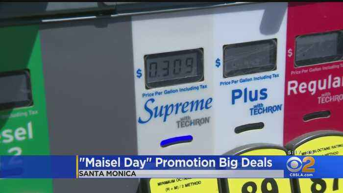 LA Goes Back In Time To 1959 Prices For 'Maisel Day'; Gas Promotion Turns 'Chaotic'