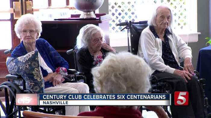 Century Club celebrates six centenarians