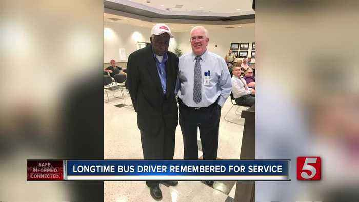 Longtime Wilson County school bus driver, David Wright, passed away at 76