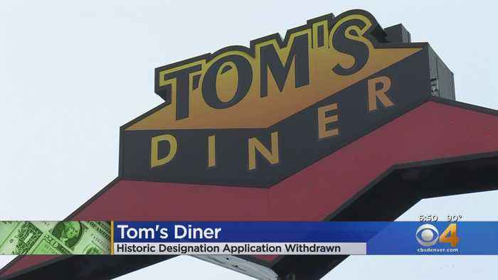 Group Withdraws Application For Historic Designation For Tom's Diner