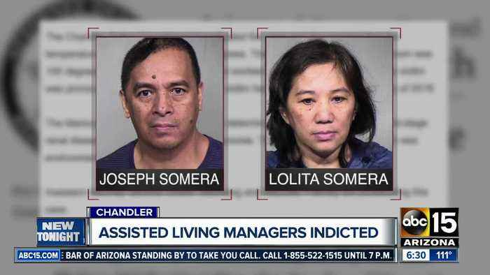 Chandler couple who ran care home charged after patient dies