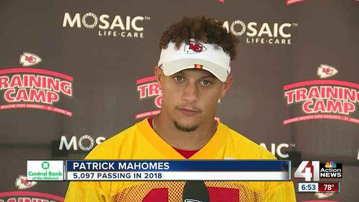 Chiefs QB Mahomes: 'We expect to score every time we're on the field'