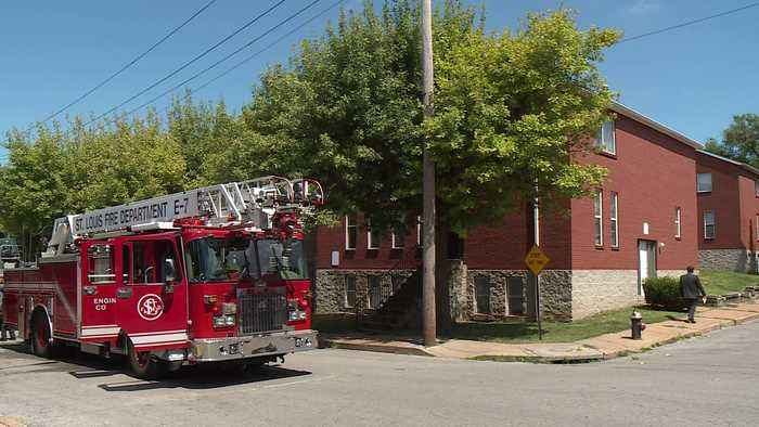 Four Young Children Left Home Alone Rescued from St. Louis Apartment on Fire