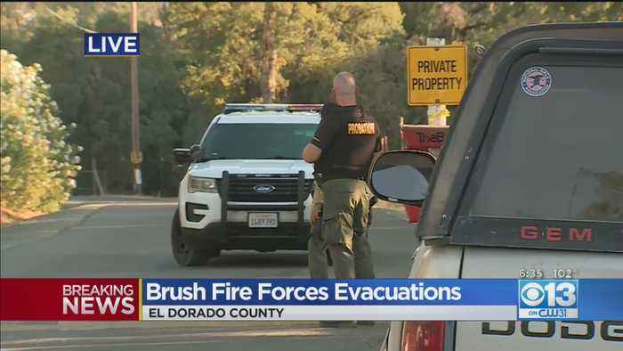 Brush Fire Forces Evacuations