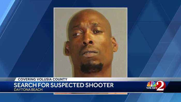Search on for suspected shooter in Daytona Beach