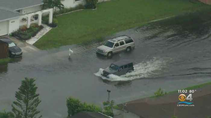 Flash Flooding In Miami-Dade Causes Major Problems During Rush Hour