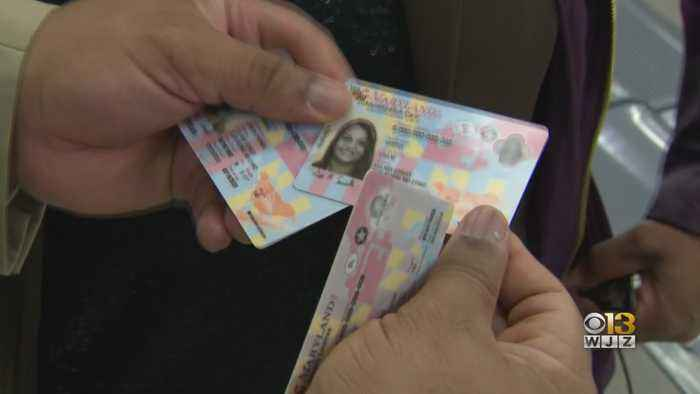 Maryland Recalls Thousands Of Real IDs