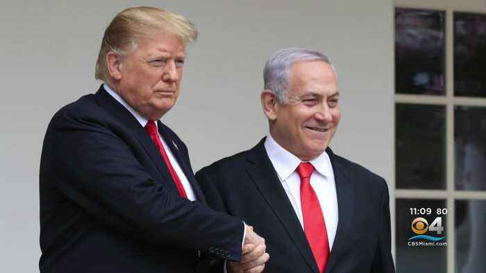 President Trump Defending Israel's Decision To Ban Muslim Congresswomen