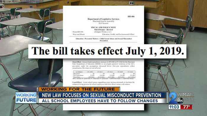 New law focuses on sexual misconduct prevention for all schools statewide