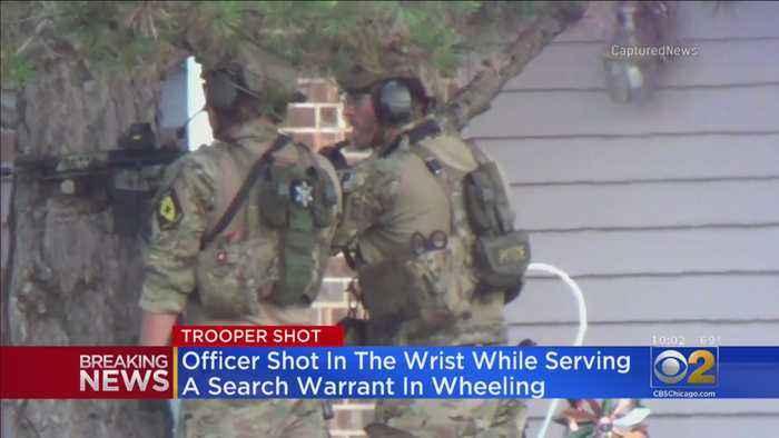 State Trooper Shot In Wheeling