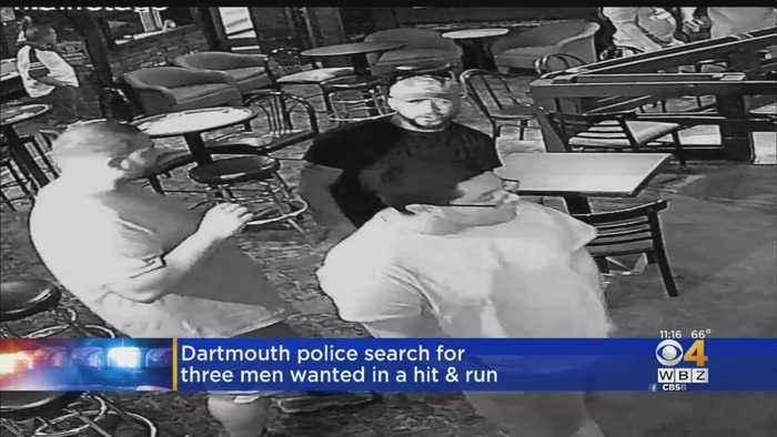 Police Seek Suspects In Dartmouth Hit & Run Crash