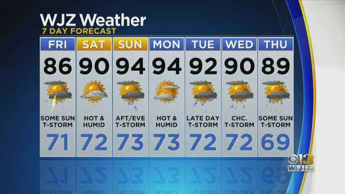 Bob Turk Has A Look At Your Updated Forecast