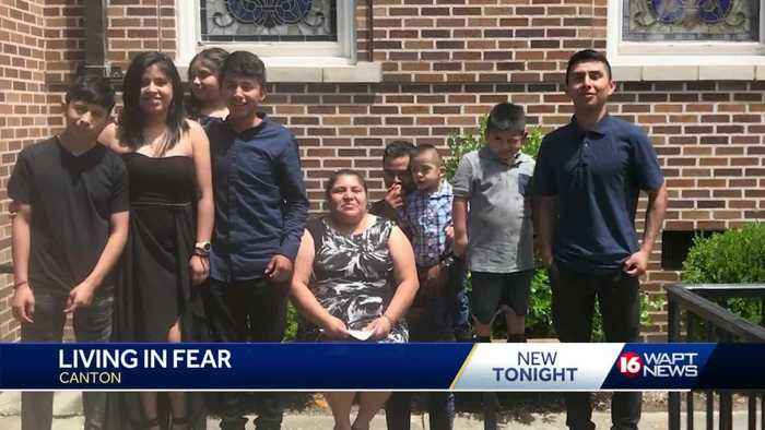 Canton family speaks about living in fear