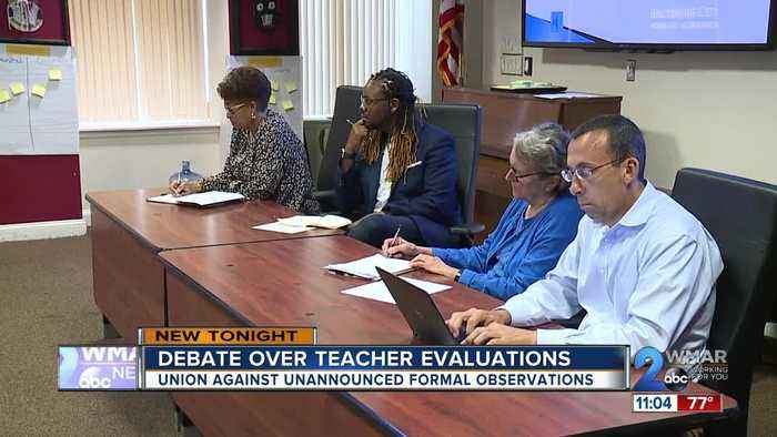 Potential changes to Baltimore City teacher evaluations
