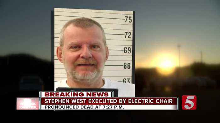 Tennessee execution: Stephen West executed by electric chair