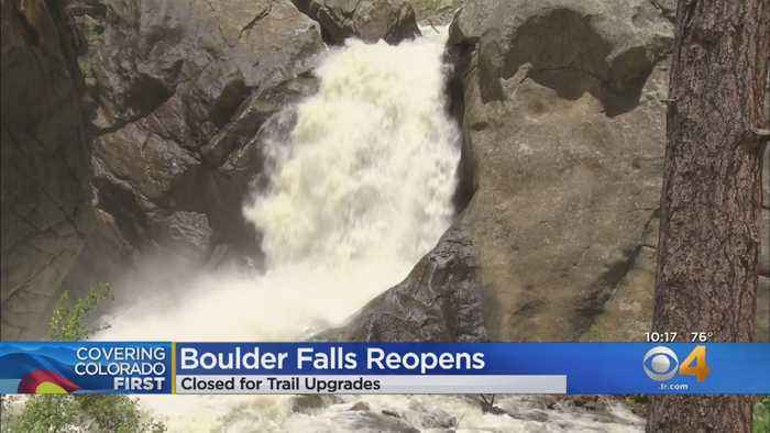 Boulder Falls Reopens After Safety Upgrades