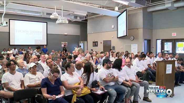 TUSD School Board hears public opinions on sexual education curriculum