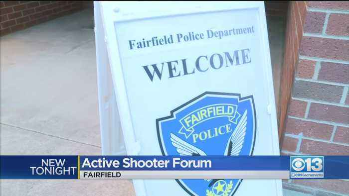 Fairfield PD Holds Active Shooter Forum