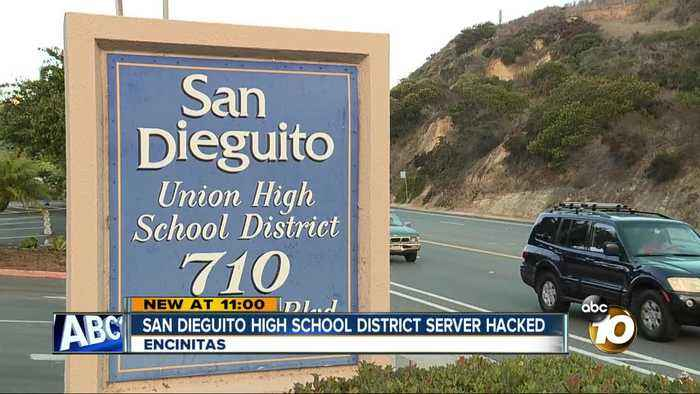 Malware attack targets server at North County school district
