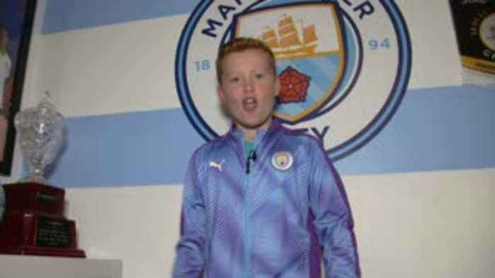 Meet Man City's 10-year-old super fan!