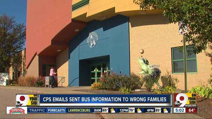 Cincinnati Public Schools accidentally sends students' personal information to others' families