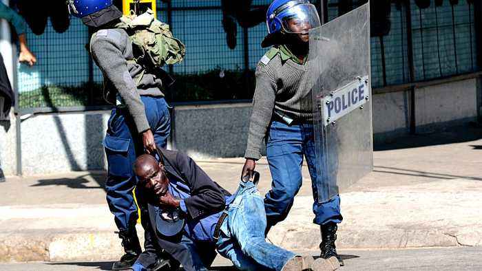 Analysis: Zimbabwe police violently break up protests after court ban