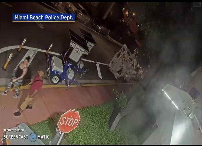 WEB EXTRA: Miami Beach Police Release Surveillance Video Of Strong-Armed Robbery Suspects