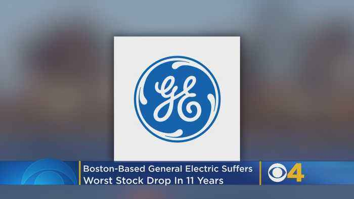 Boston-Based General Electric Suffers Worst Stock Drop In 11 Years
