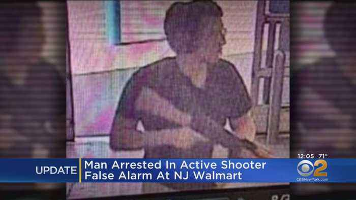 Man Arrested In Active Shooter False Alarm At NJ Walmart