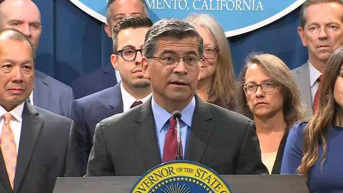 RAW: California Attorney General Xavier Becerra Talks About New Suit Filed Against Trump Administration