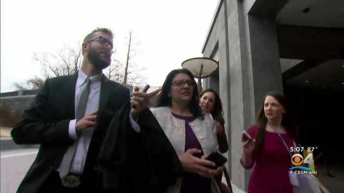 Congresswoman Rashida Tlaib Rejects Israel's Latest Offer To Visit