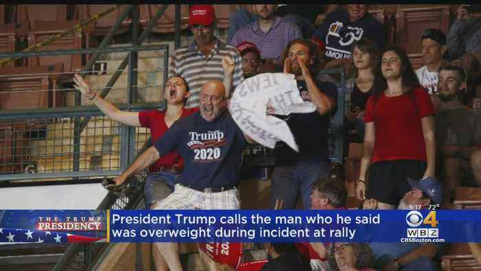After Mistaking Him For Protester, Trump Phones Supporter He Mocked As Overweight During NH Rally