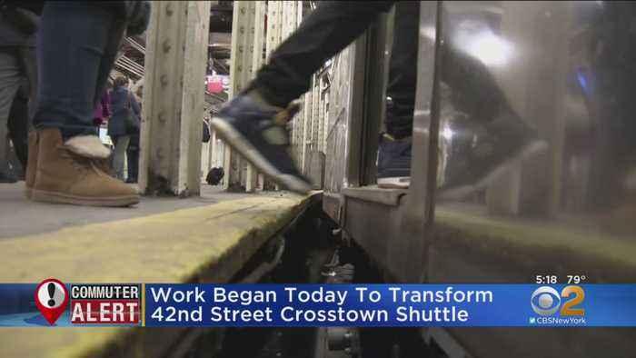 Work Begins To Transform 42nd Street Crosstown Shuttle