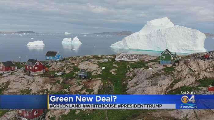 WEB EXTRA: President Trump Interested In Acquiring Greenland