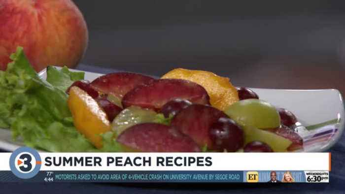 Donna's summer peach recipes