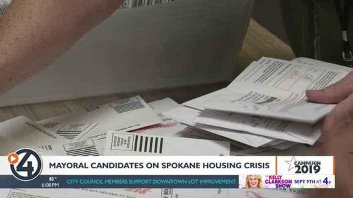 Mayoral candidates respond to Spokane housing crisis