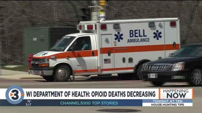 WI Department of Health: Opioid deaths increasing
