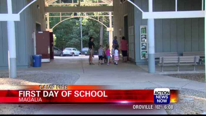 School is back in session for Paradise Unified School District