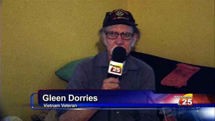 Veteran gets donated glasses