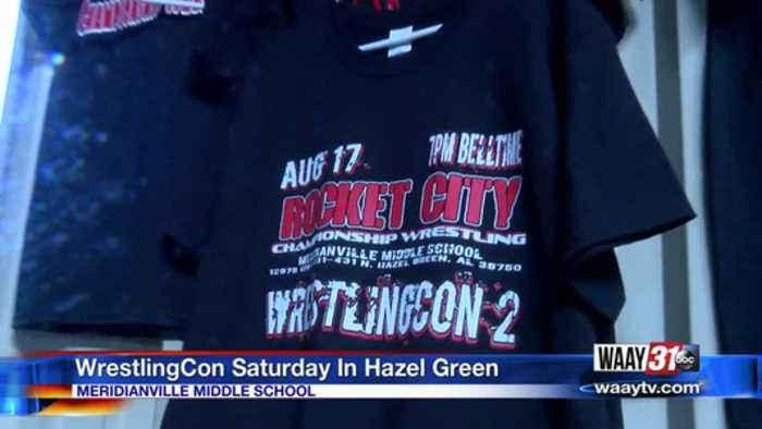 WrestlingCon Saturday in Hazel Green