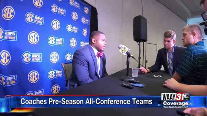 SEC Coaches Pre-Season All-Conference teams